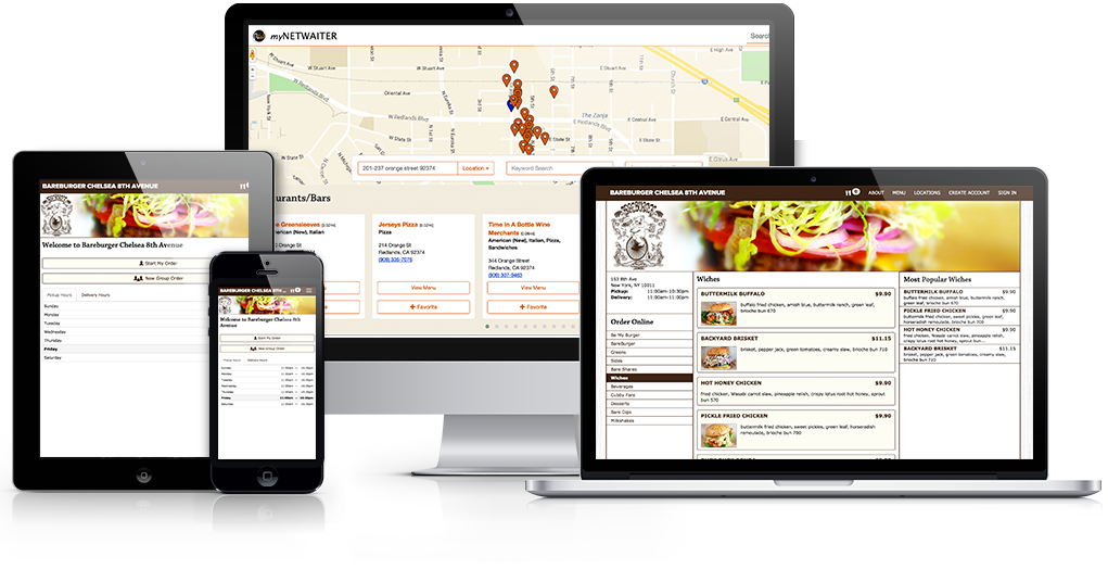 NetWaiter's restaurant marketing software