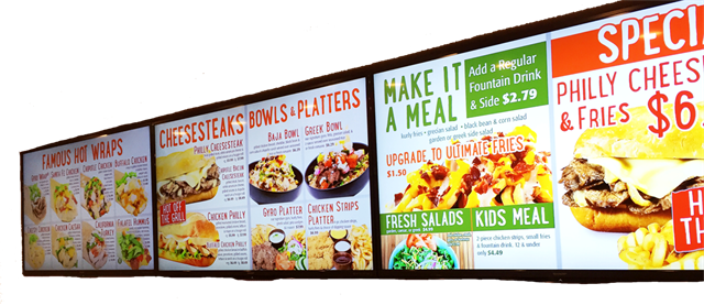 Restaurant Technology: Digital Menu Boards