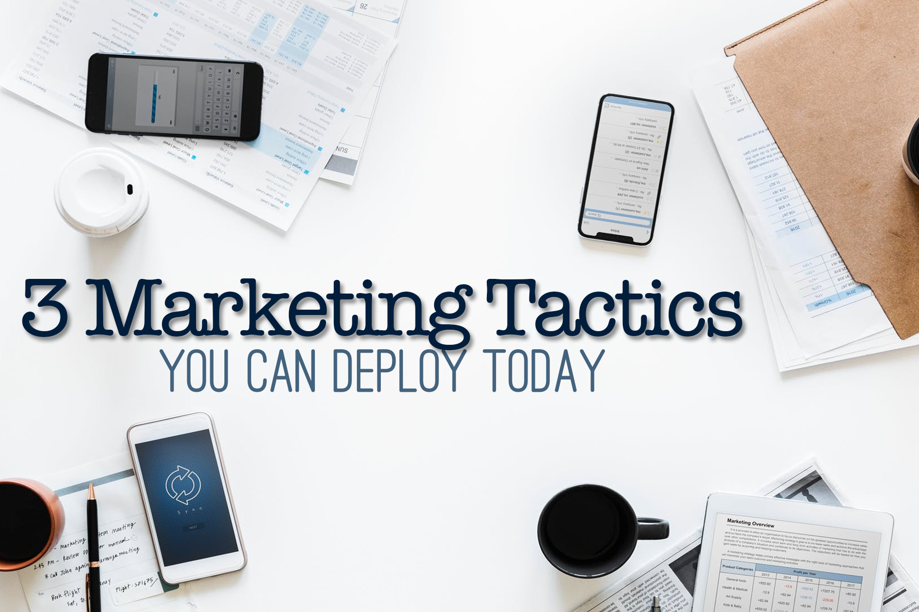 3 Restaurant Marketing Tactics You Can Deploy Today