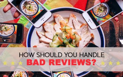 How should your restaurant handle bad reviews?