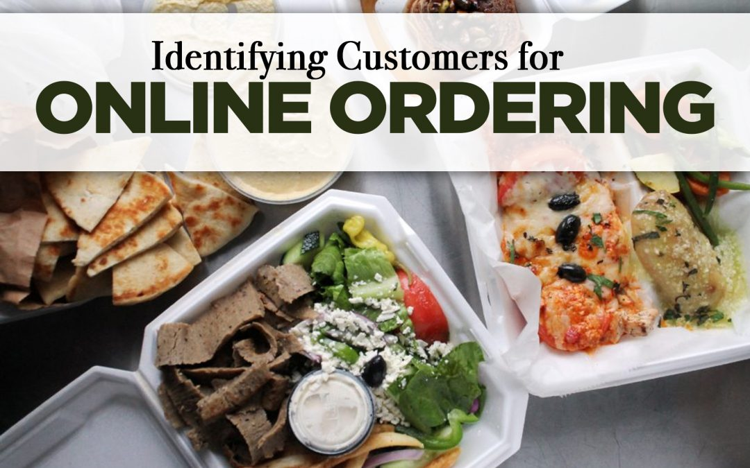 Identifying Customers for Online Ordering