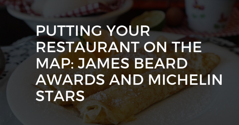 Winning The James Beard Award or a Michelin Star