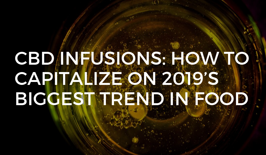 CBD Infusions: How to capitalize on 2019's biggest trend in food