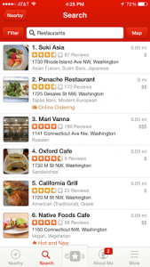 List your restaurant on yelp